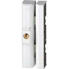 Oplegslot DF88 voor raam en velux - wit (Abus)