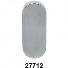 Ovaal blindrozet RVS - 27712