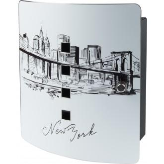 Sleutelkast Skyline New York Burg Wächter